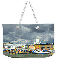 Helsinki, South Harbor Weekender Tote Bag