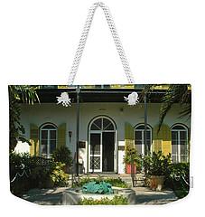 Hemingways House Key West Weekender Tote Bag