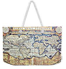 Hemisphere World  Weekender Tote Bag