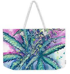 Hemp Blossom Weekender Tote Bag