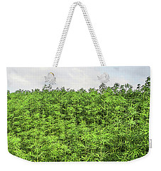 Hemp Plantation Weekender Tote Bag