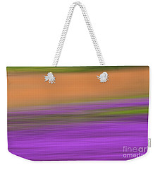 Weekender Tote Bag featuring the photograph Henbit Abstract - D010049 by Daniel Dempster