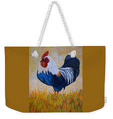 Henhouse Boss Weekender Tote Bag by Nancy Jolley