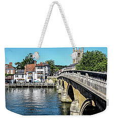 Henley And The Angel On The Bridge Weekender Tote Bag
