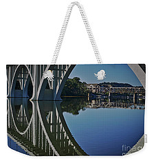 Weekender Tote Bag featuring the photograph Henley Street Bridge by Douglas Stucky