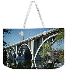 Weekender Tote Bag featuring the photograph Henley Street Bridge II by Douglas Stucky