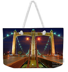 Hennepin Avenue Bridge Minneapolis Weekender Tote Bag