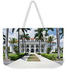 Henry Morrison Flagler Mansion Weekender Tote Bag by John Black