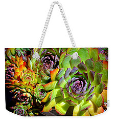 Hens 'n Chicks Weekender Tote Bag