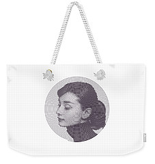 Hepburn Weekender Tote Bag by Zachary Witt