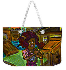 Her Doll Land Weekender Tote Bag