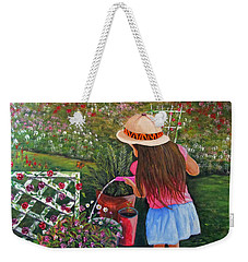 Her Secret Garden Weekender Tote Bag