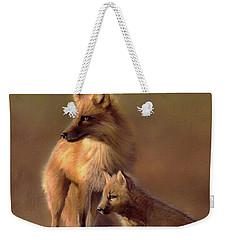 Her Watchful Eye Weekender Tote Bag