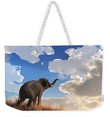Heralding The Dawn Weekender Tote Bag by Daniel Eskridge