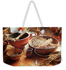 Herb Bowl Weekender Tote Bag