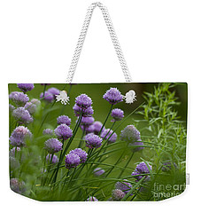 Herb Garden. Weekender Tote Bag by Clare Bambers