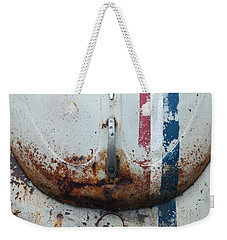 Weekender Tote Bag featuring the photograph Herbie by Jani Freimann
