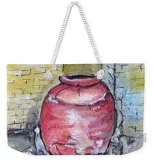 Herculaneum Amphora Pot Weekender Tote Bag by Clyde J Kell