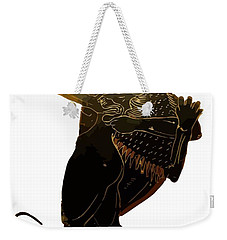 Hercules And The Nemean Lion Weekender Tote Bag by Tracey Harrington-Simpson