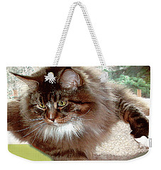 Weekender Tote Bag featuring the photograph Hercules The Beautiful. by Roger Bester
