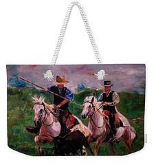 Herdsmen Weekender Tote Bag by Khalid Saeed