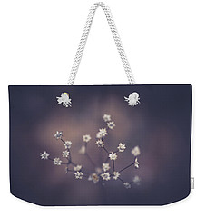Weekender Tote Bag featuring the photograph Here And There by Shane Holsclaw
