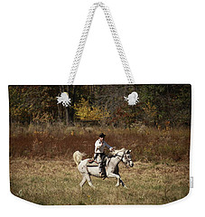 Here At Shooters Roost Weekender Tote Bag