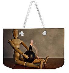 Here Comes The Boom Weekender Tote Bag