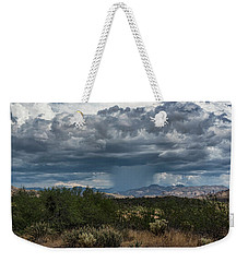 Weekender Tote Bag featuring the photograph Here Comes The Rain Again by Saija Lehtonen