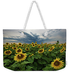 Here Comes The Sun Weekender Tote Bag by Aaron J Groen