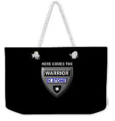 Here Comes The Warrior Weekender Tote Bag