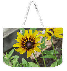 Here I Am Weekender Tote Bag by Arlene Carmel