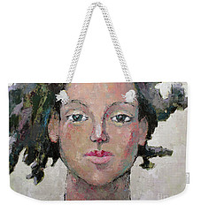 Here I Am Weekender Tote Bag by Becky Kim