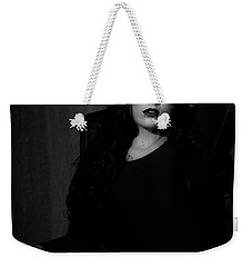 Weekender Tote Bag featuring the photograph Here by Ian Thompson