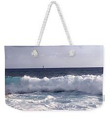 Here It Comes 2 Weekender Tote Bag by Karen Nicholson