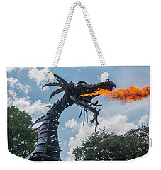 Here There Be Dragons Weekender Tote Bag