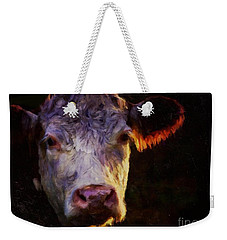 Hereford Cow Weekender Tote Bag