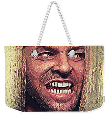Here's Johnny - The Shining  Weekender Tote Bag