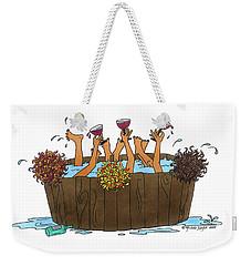 Here's To Us Weekender Tote Bag
