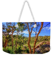 Weekender Tote Bag featuring the photograph Heritage View, John Forest National Park by Dave Catley