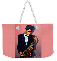 Herman Brood Weekender Tote Bag by Paul Meijering