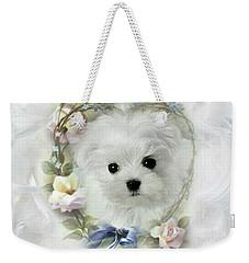 Hermes And Floral Heart Weekender Tote Bag