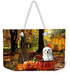 Hermes And Pumpkins Weekender Tote Bag