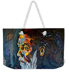 Hermit At Golden Rock, Burma Weekender Tote Bag
