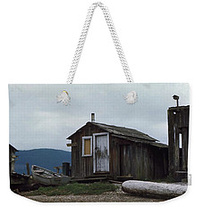 Weekender Tote Bag featuring the photograph Hermit by Laurie Stewart