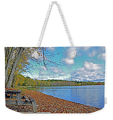 Fall Picnic In Maine Weekender Tote Bag