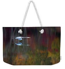 Heron 2 Weekender Tote Bag by Carlee Ojeda