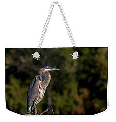 Heron At Sunrise Weekender Tote Bag