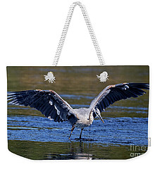 Heron Full Spread Weekender Tote Bag
