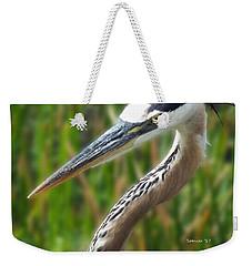 Heron Head Weekender Tote Bag